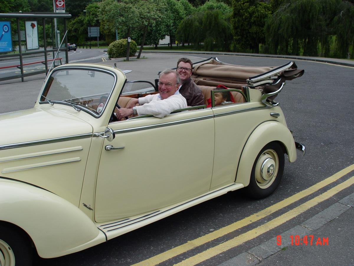 1950s Mercedes Convertible