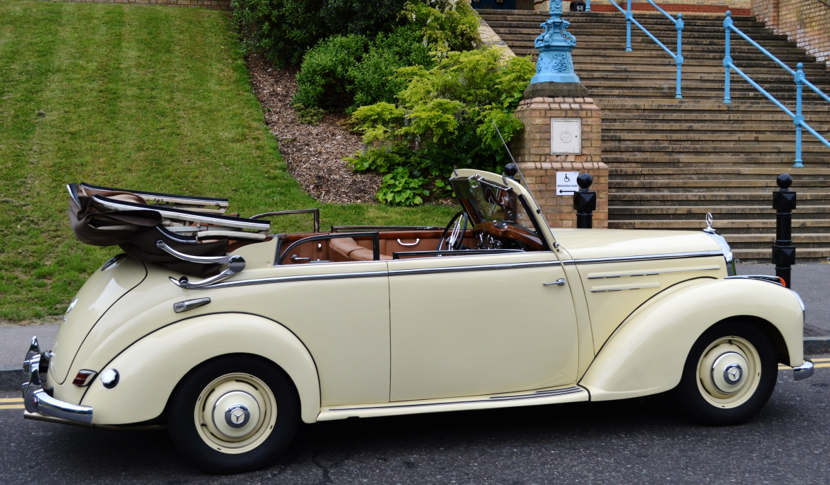 Classic Mercedes Cabriolet - restored, in immaculate condition, and for sale