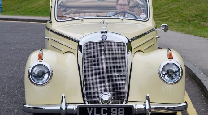 Classic Mercedes Cabriolet - 1952 Convertible