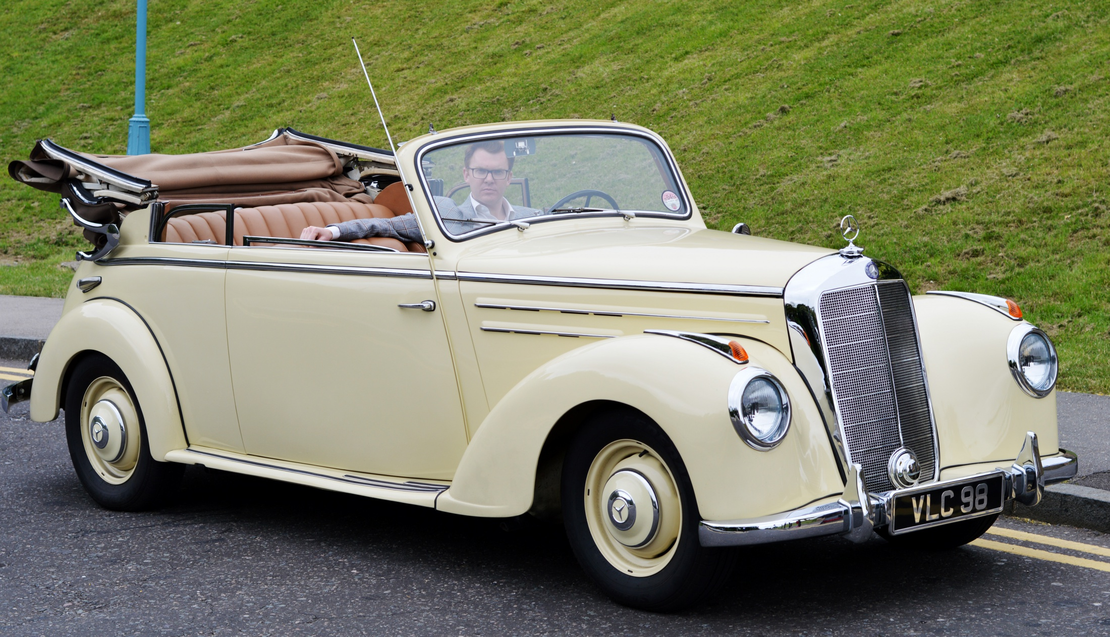 1950s mercedes convertible for sale fred shearer. Black Bedroom Furniture Sets. Home Design Ideas