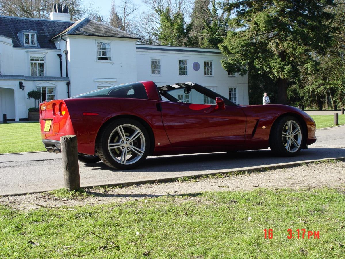 2008 Corvette C6 Coupe (6.2 litre) with manual transmission