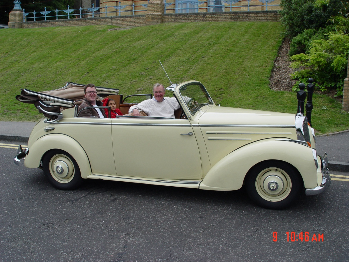 Classic Mercedes Convertible - for sale