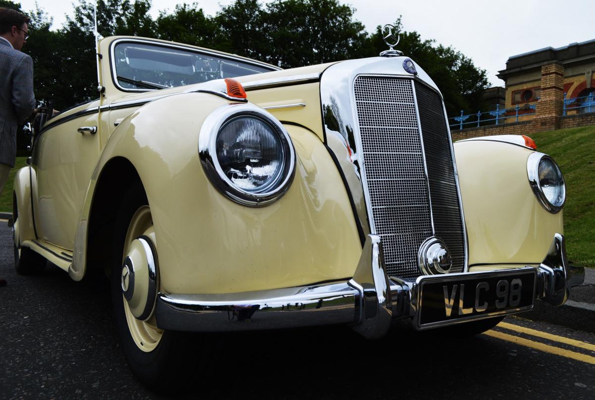 Vintage 1950s Mercedes Cabriolet