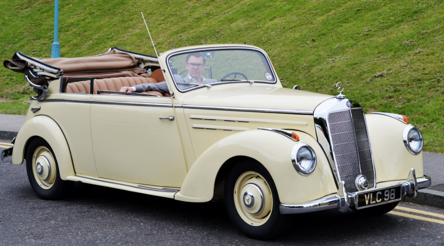 Classic Mercedes Convertible from 1950s - for sale